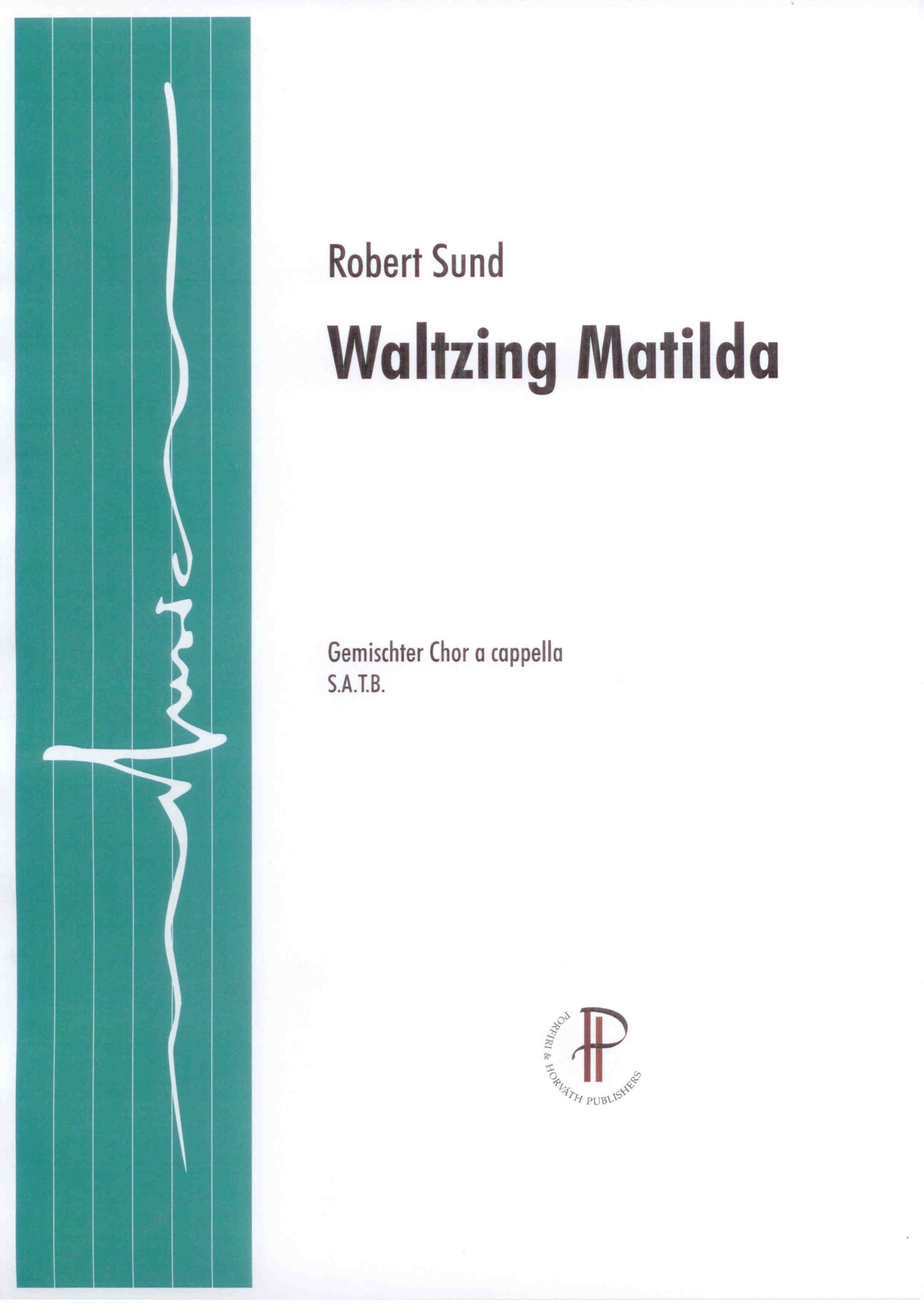 Waltzing Matilda - Show sample score