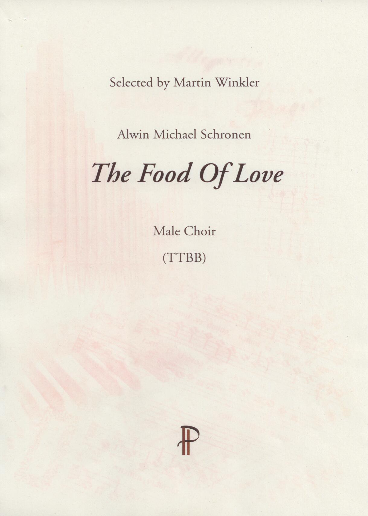 The Food Of Love - Show sample score