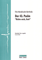 Der 43. Psalm - Show sample score