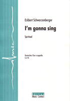 I m gonna sing - Show sample score