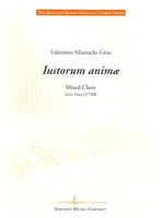 Iustorum anima - Show sample score