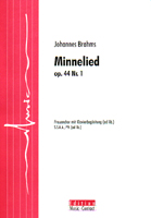Minnelied - Show sample score