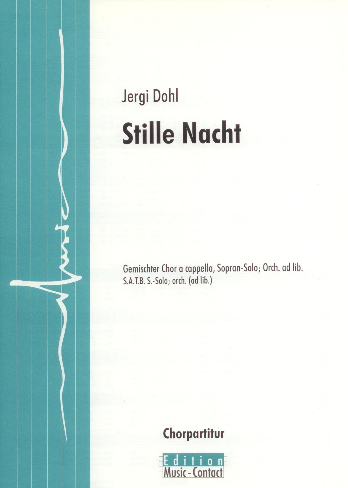 Stille Nacht - Show sample score