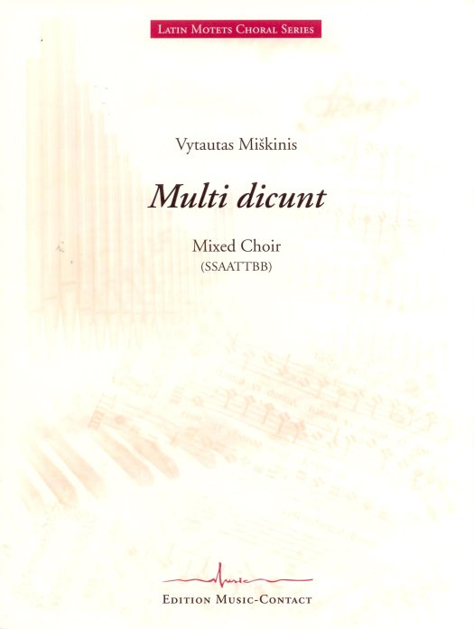 Multi dicunt - Show sample score